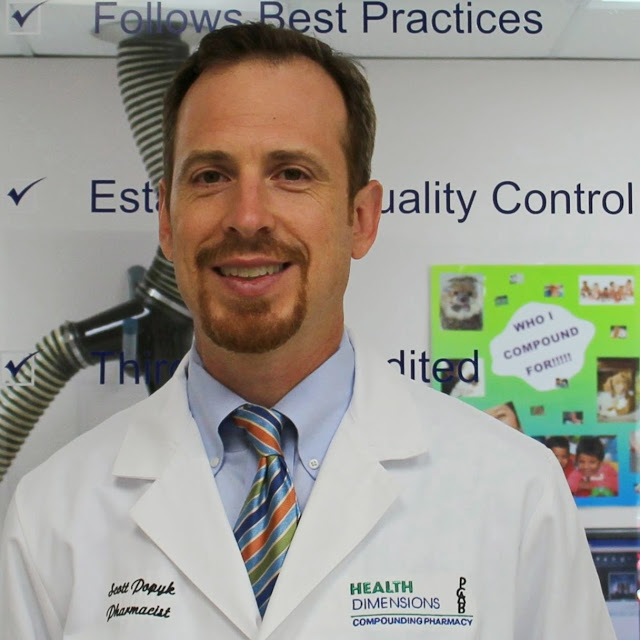 Health Dimensions Clinical Pharmacy (HDRX) founder Scott Popyk RPh, MBA