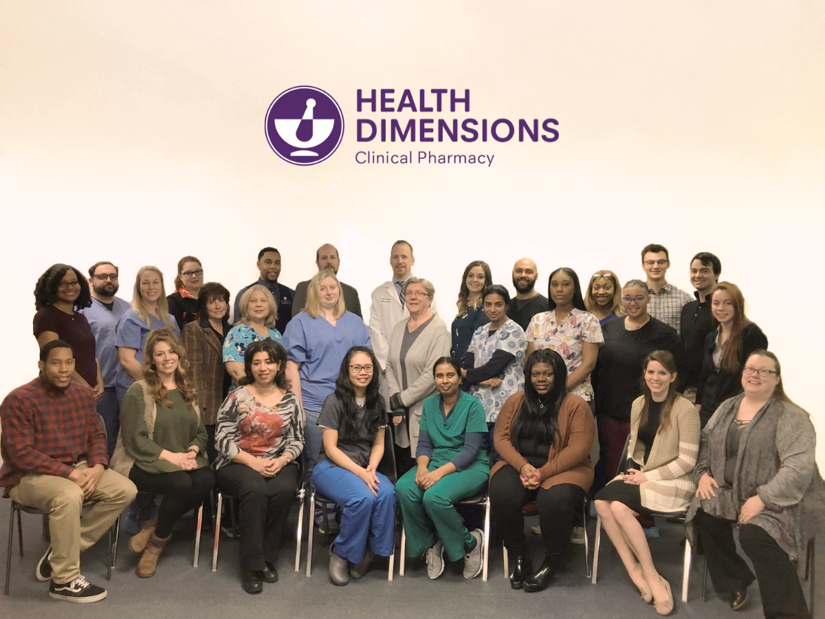 Health Dimensions Clinical Pharmacy. Your Team. Ready to serve.